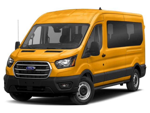 "2020 Ford Transit Passenger Wagon T-150 130"" Med Roof XL RWD"
