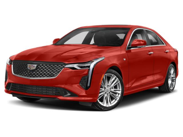 2020 Cadillac CT4 V-Series 4dr Sdn V-Series Turbocharged I4 2.7L/ [1]