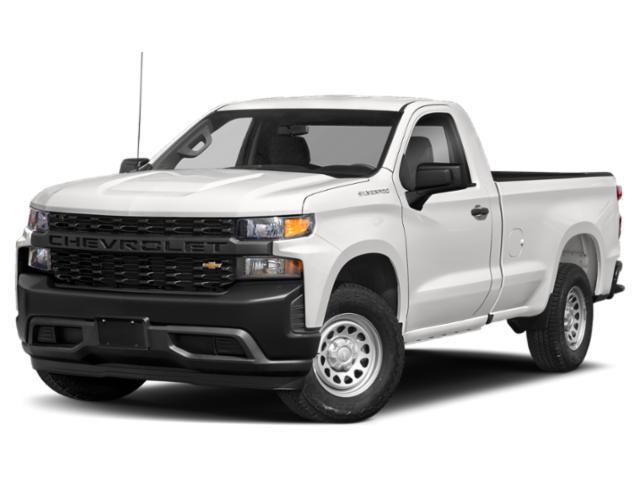 """2020 Chevrolet Silverado 1500 Work Truck 2WD Reg Cab 140"""" Work Truck Gas V6 4.3L/262 [18]"""