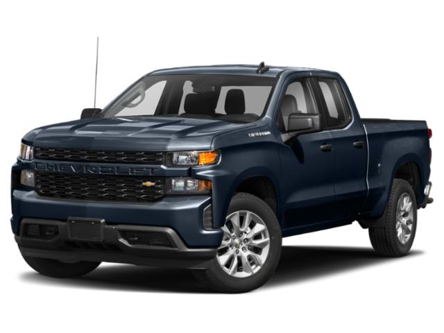 2021 Chevrolet Silverado 1500 Silverado Custom 4WD Double Cab 147″ Custom Turbocharged Gas I4 2.7L/166 [12]