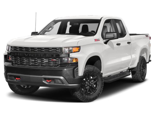 "2021 Chevrolet Silverado 1500 4WD Double Cab 147"" Custom Gas V8 5.3L/325 [1]"