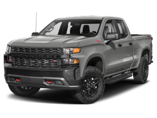 """2021 Chevrolet Silverado 1500 Custom 4WD Double Cab 147"""" Custom Turbocharged Gas I4 2.7L/166 [5]"""