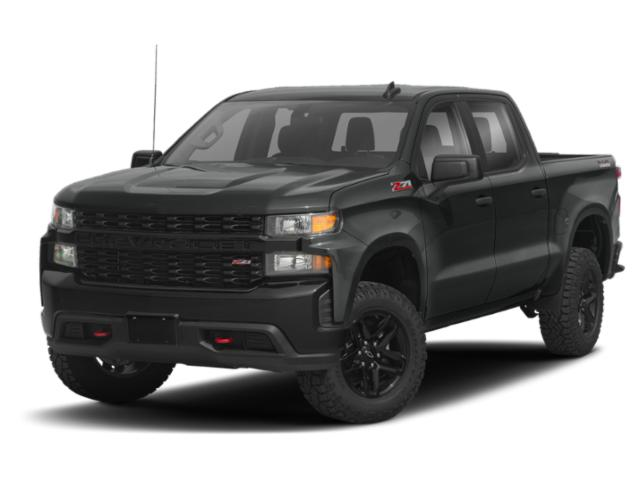 "2021 Chevrolet Silverado 1500 Custom 20"" Wheels Apple Carplay 4WD Crew Cab 147"" Custom Turbocharged Gas I4 2.7L/166 [18]"