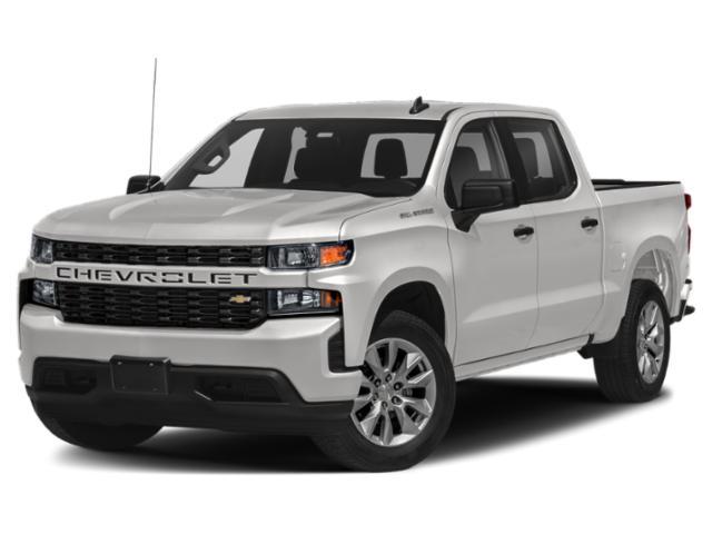 """2021 Chevrolet Silverado 1500 4WD Crew Cab 147"""" Custom Turbocharged Gas I4 2.7L/166 [1]"""