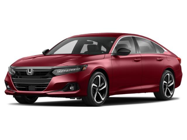 2021 Honda Accord Sedan Sport 1.5T Sport 1.5T CVT Intercooled Turbo Regular Unleaded I-4 1.5 L/91 [8]