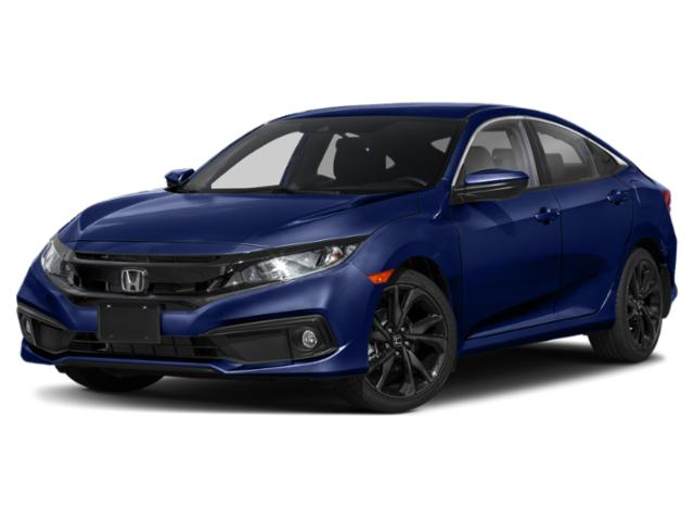 2021 Honda Civic Sedan Sport Sport CVT Regular Unleaded I-4 2.0 L/122 [13]