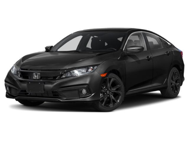2021 Honda Civic Sedan Sport Sport CVT Regular Unleaded I-4 2.0 L/122 [4]