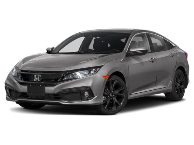 2021 Honda Civic Sedan Sport Sport CVT Regular Unleaded I-4 2.0 L/122 [1]