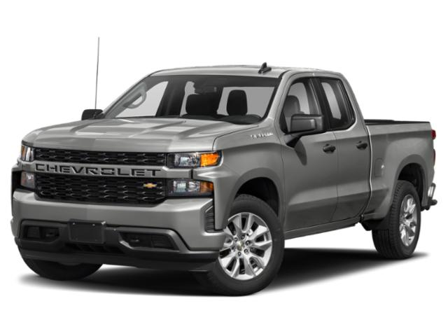 "2019 Chevrolet Silverado 1500 Custom 4WD Double Cab 147"" Custom Gas V8 5.3L/ [8]"