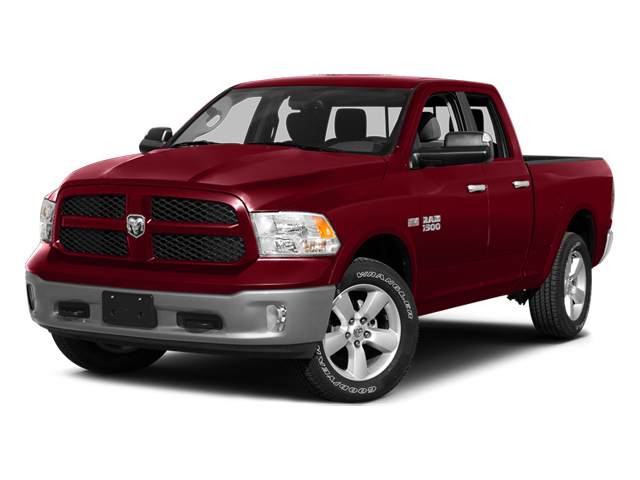 2014 RAM 1500 SLT 4WD Quad Cab 140.5″ Big Horn Regular Unleaded V-8 5.7 L/345 [2]