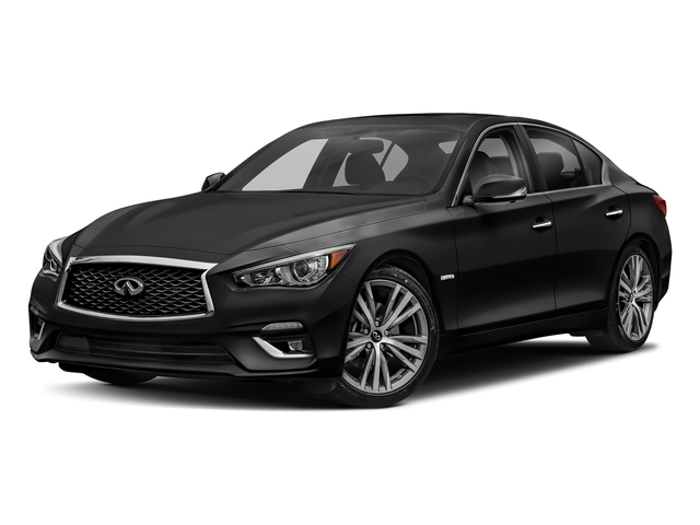 2018 INFINITI Q50 Hybrid LUXE Hybrid LUXE RWD Gas/Electric V-6 3.5 L/213 [3]