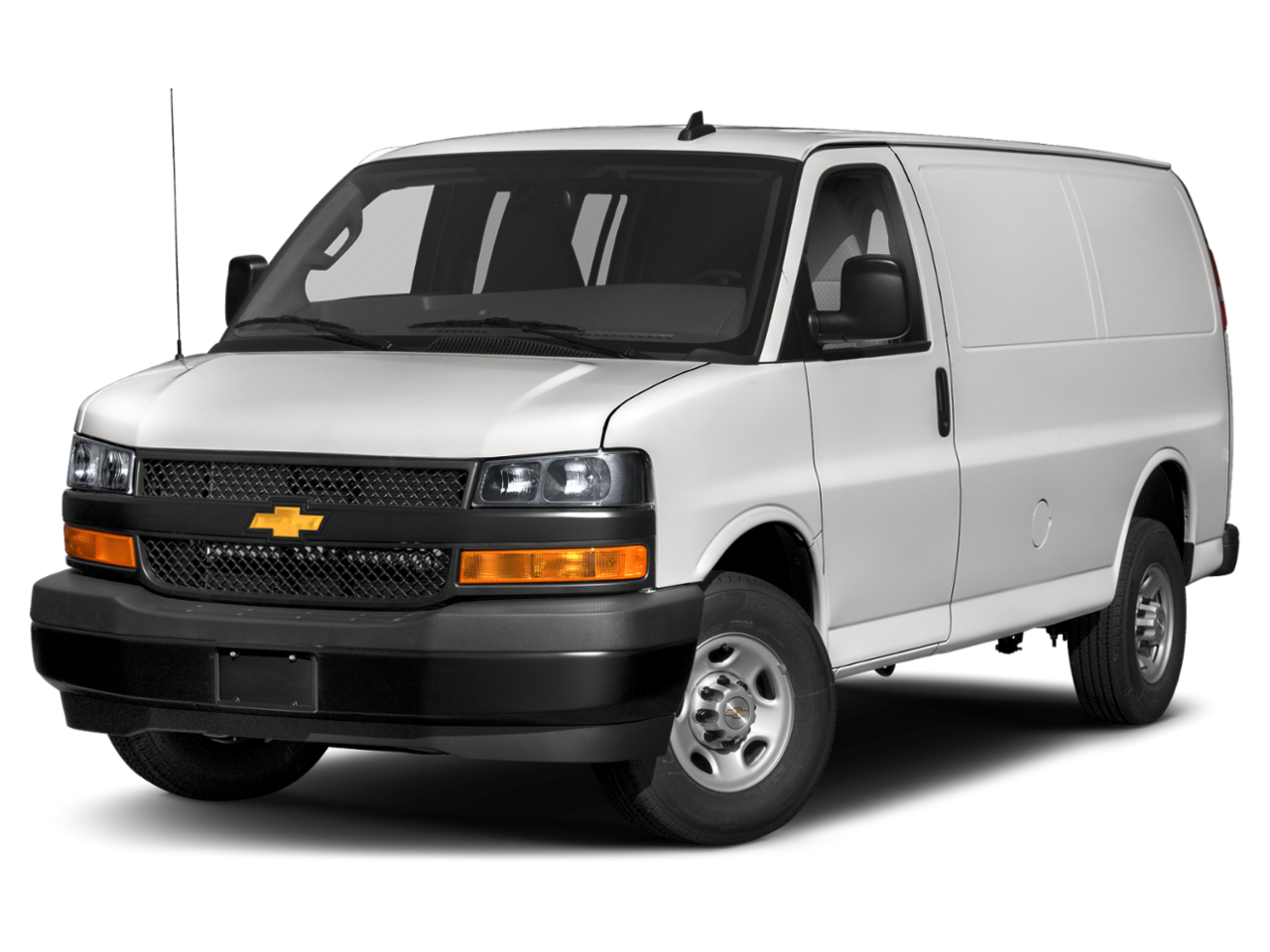 New 2020 Chevrolet Express Cargo Van Work Van