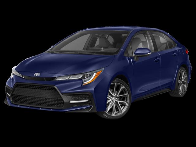 New 2020 Toyota Corolla 4Dr. Sedan SE