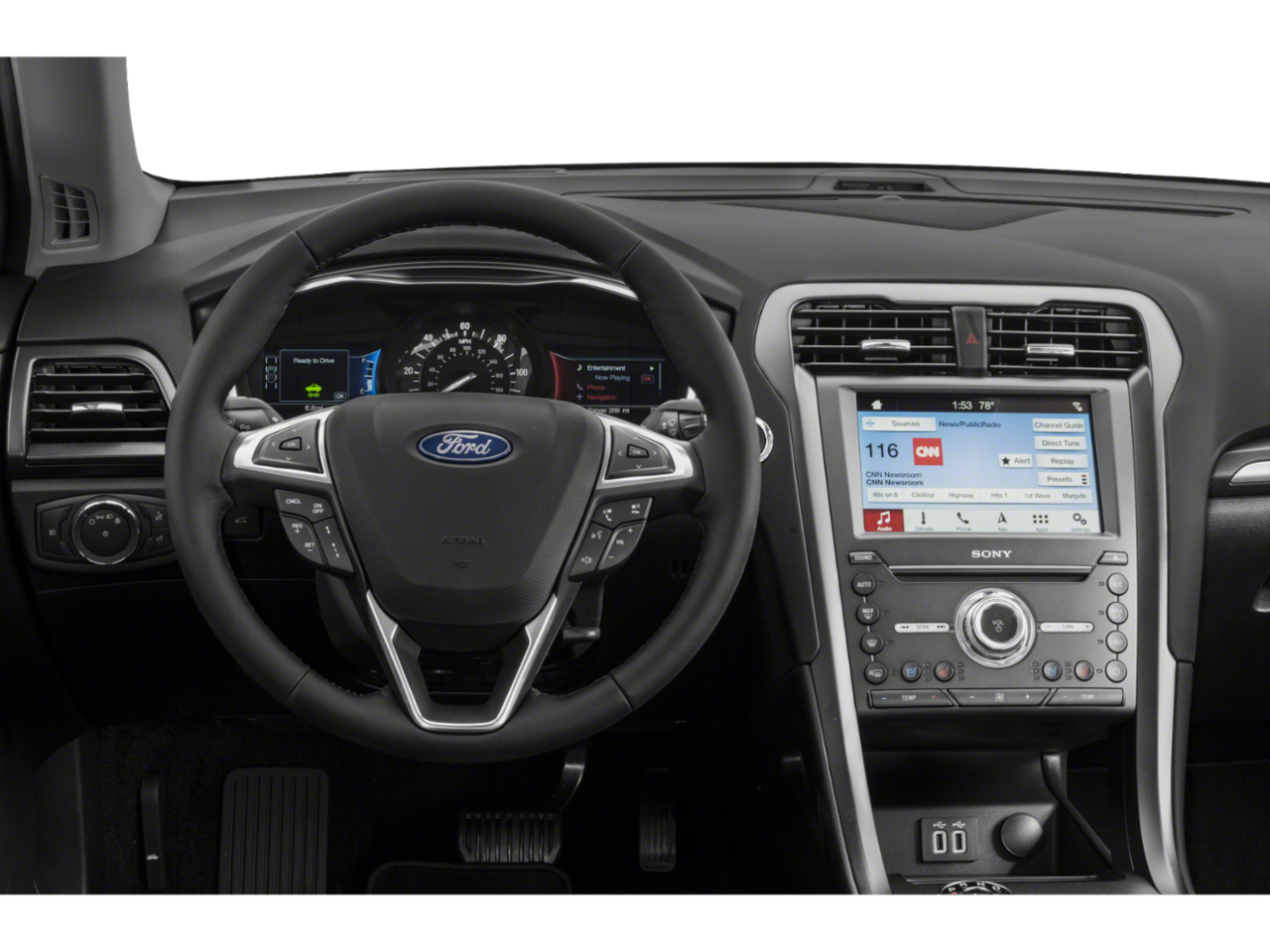 New 2019 Ford Fusion Energi Titanium