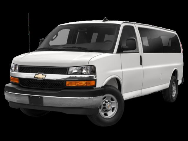 2020 Chevrolet Express 2500 Work Van 3D Cargo Van