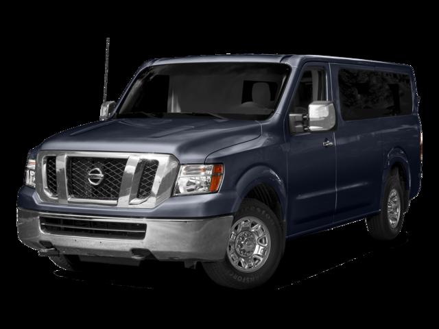 New Nissan NV Passenger SV