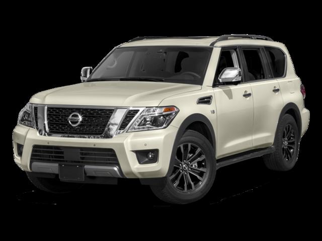 New 2017 Nissan Armada Platinum With Navigation & 4WD