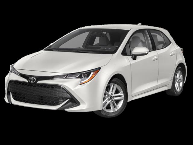 New 2021 Toyota Corolla Hatchback SE CVT