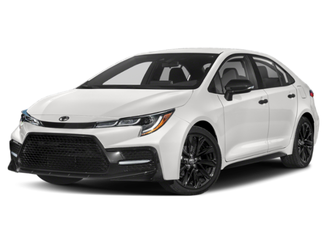 New 2021 Toyota Corolla Nightshade