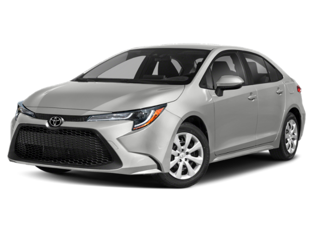New 2021 Toyota Corolla LE CVT FWD 4dr Car