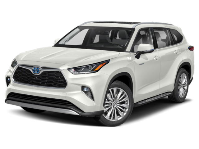 New 2021 Toyota Highlander Hybrid Platinum