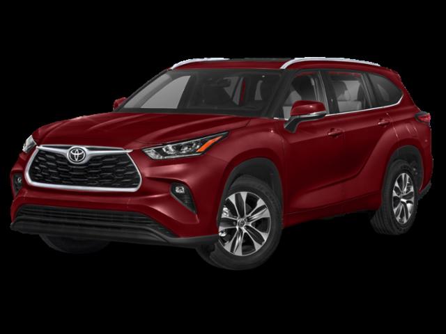 New 2021 Toyota Highlander XLE AWD SUV V6
