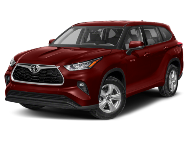 New 2021 Toyota Highlander Hybrid LE AWD 5