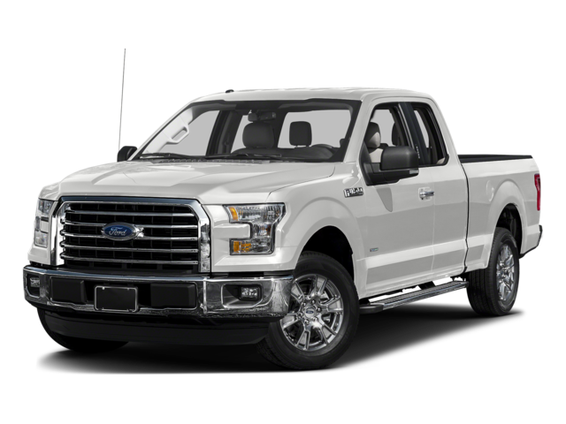 New 2016 Ford F-150 4WD SuperCab 163 XL 4WD