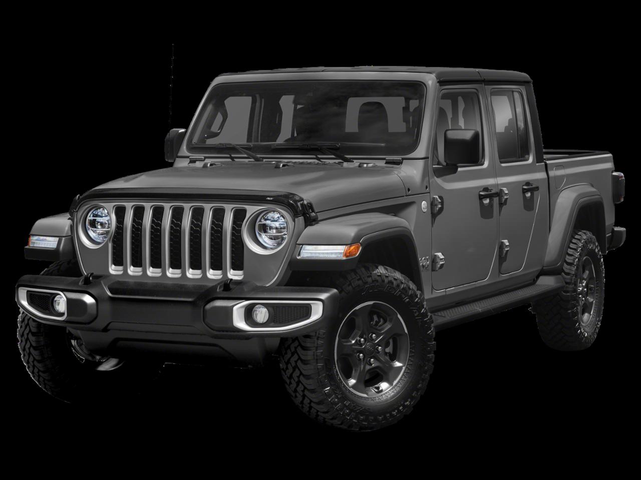 "2020 Jeep<br/><span class=""vdp-trim"">Gladiator Overland 4WD Crew Cab Pickup</span>"