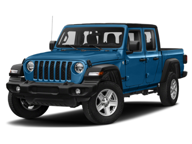 New 2021 Jeep Gladiator Sport With Navigation & 4WD