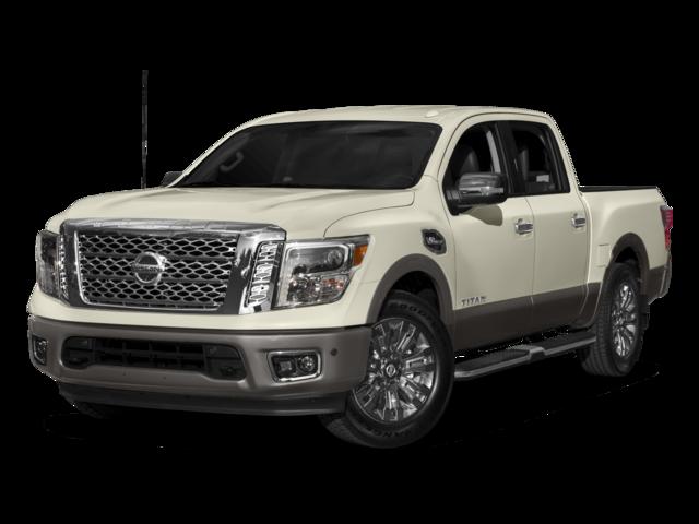 2017 Nissan Titan Platinum Reserve 4D Crew Cab