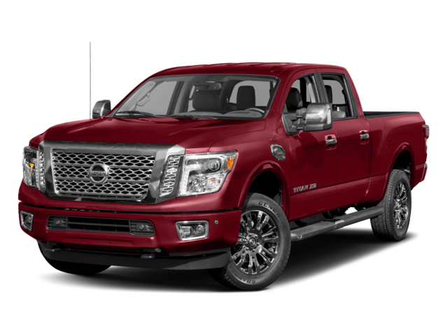 2017 Nissan Titan XD Platinum Reserve Diesel Crew Cab Pickup