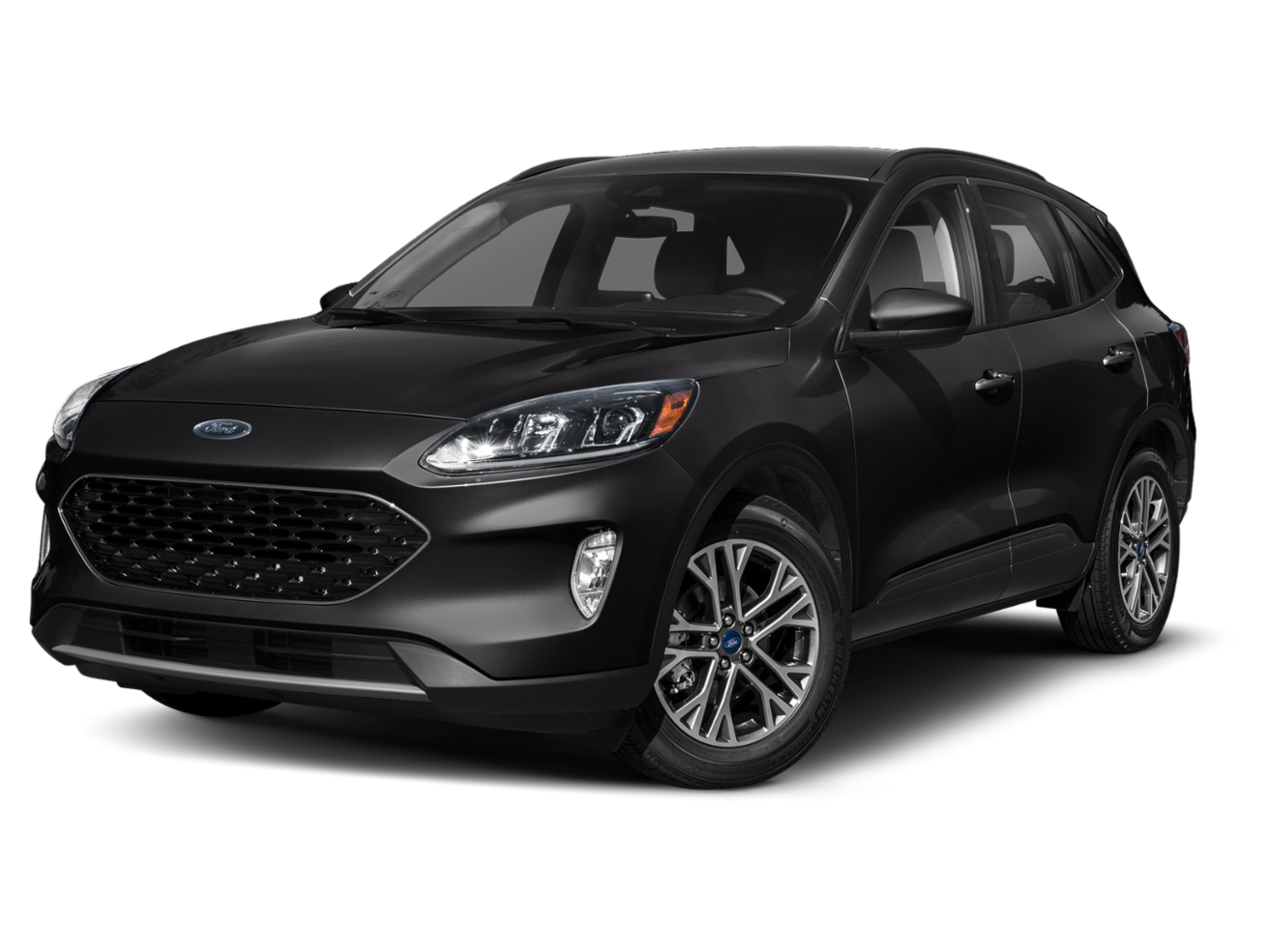 2020 Ford Escape Titanium Hybrid With Navigation & AWD