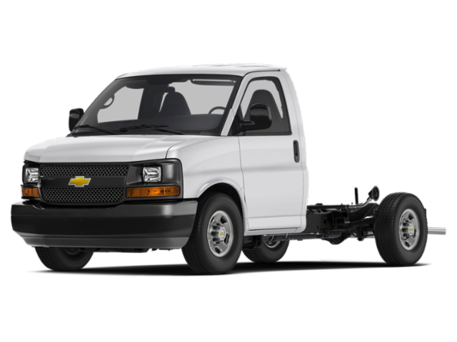 2018 Chevrolet Express Commercial Cutaway BASE Specialty Vehicle