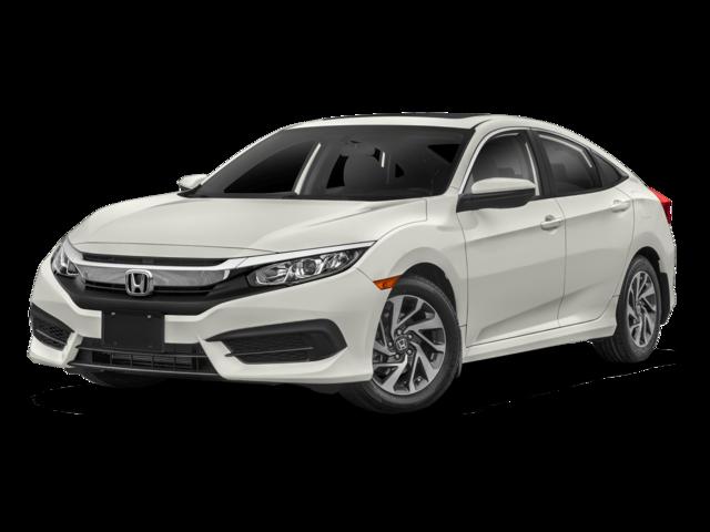 New 2018 Honda Civic Sedan EX