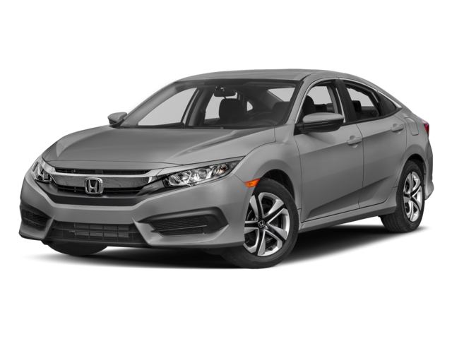New 2017 Honda Civic Sedan LX FWD 4dr Car