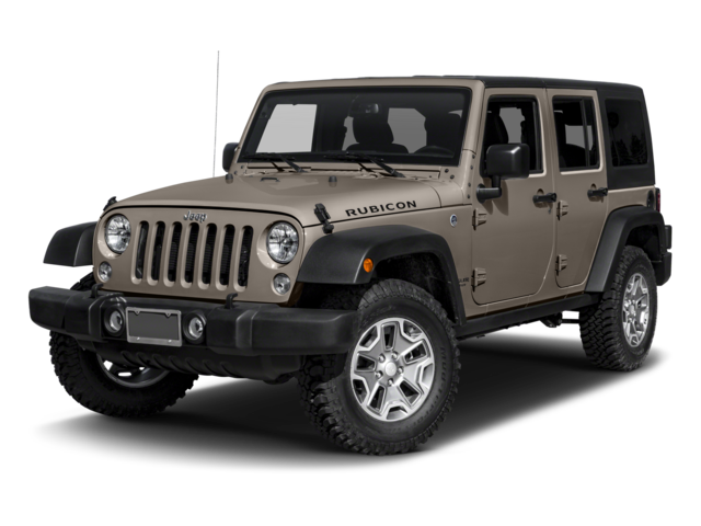 2016 Jeep Wrangler Unlimited Rubicon 4D Sport Utility