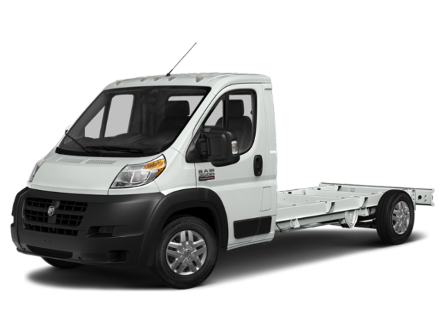 2018 Ram ProMaster 3500 Cutaway Low Roof Utility Body