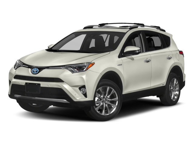 2018 Toyota RAV4 Hybrid Limited w/accessories (see description)