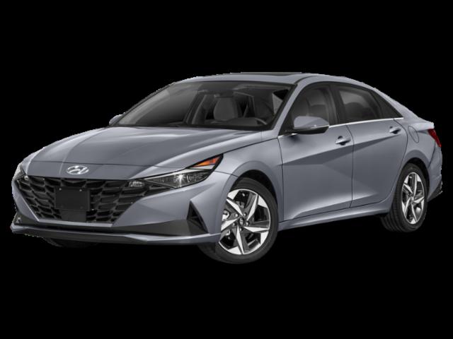 2021 Hyundai Elantra Hybrid Blue 4dr Car