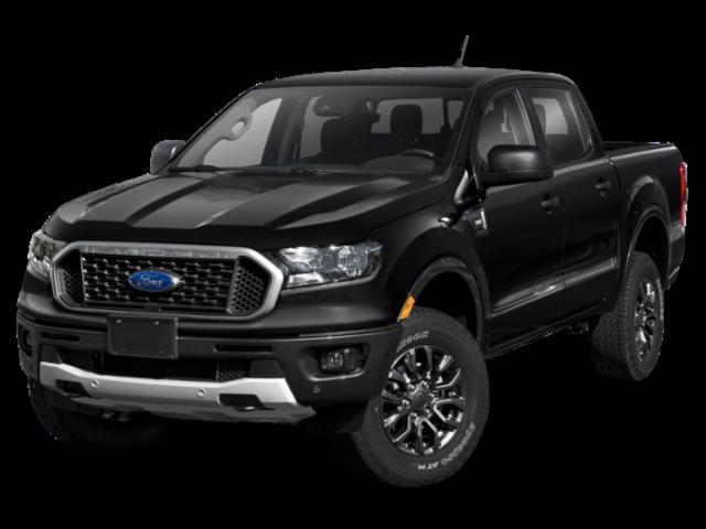 2021 Ford Ranger Lariat 4D Crew Cab