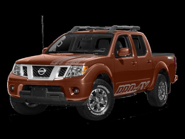 2018 Nissan Frontier PRO-4X 4D Crew Cab