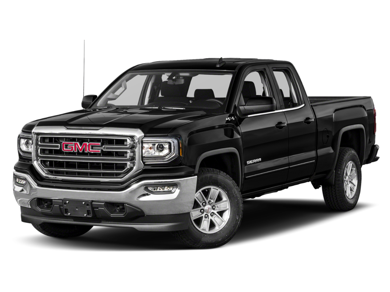 New 2019 GMC Sierra 1500 Limited Double Cab 4x4