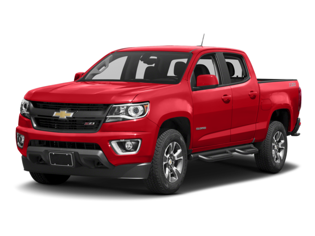 2017 Chevrolet Colorado Z71 4D Crew Cab