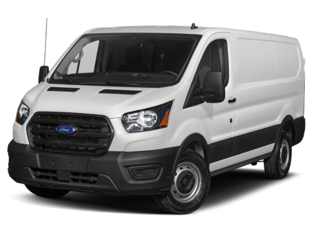 2020 Ford Transit Cargo Van With Aluminum Shelves