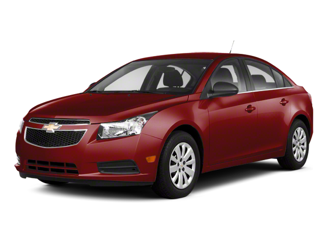 Pre-Owned 2011 CHEVROLET CRUZE LT Sedan 4