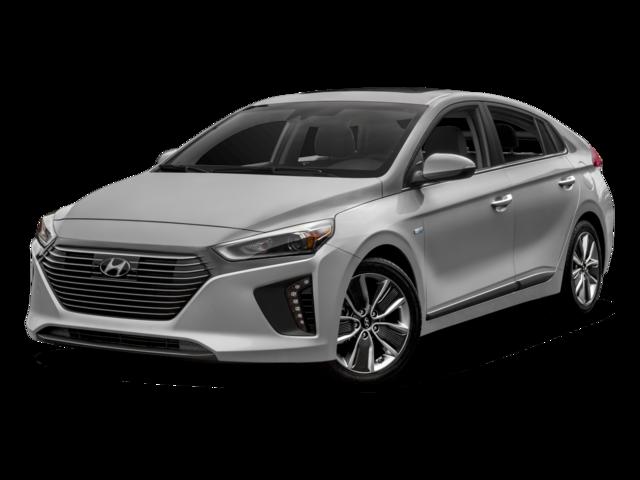 2017 Hyundai Ioniq Hybrid Blue 4D Hatchback