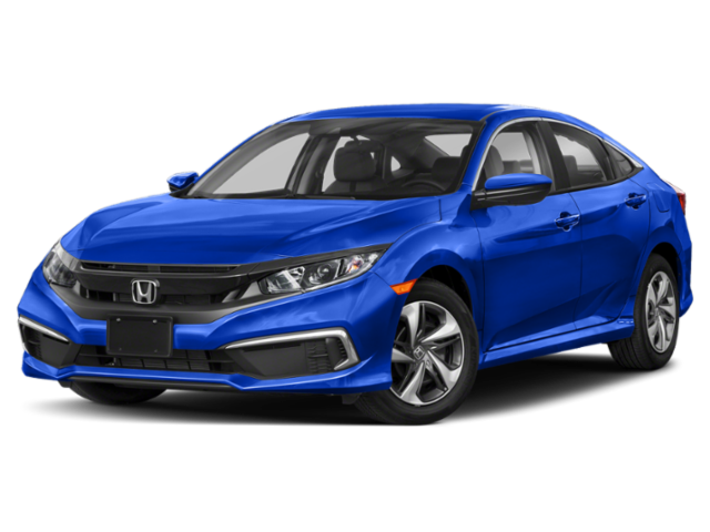 New 2020 Honda Civic Sedan LX FWD 4dr Car