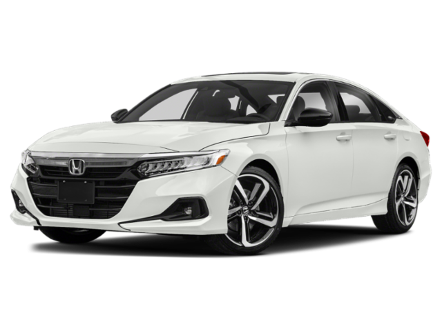 New 2021 Honda Accord Sedan Sport CVT