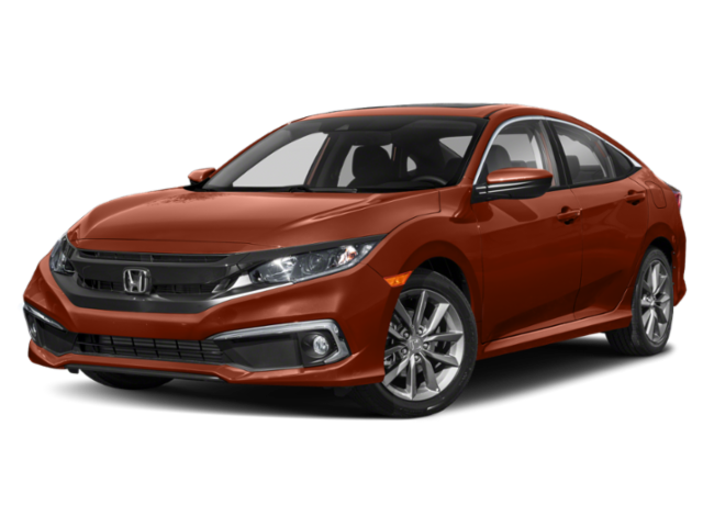 2019 Honda Civic Sedan EX-L CVT sedan